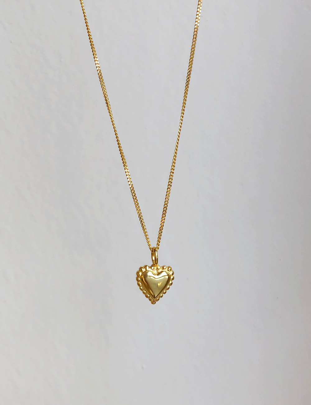 Heart Dot Necklace
