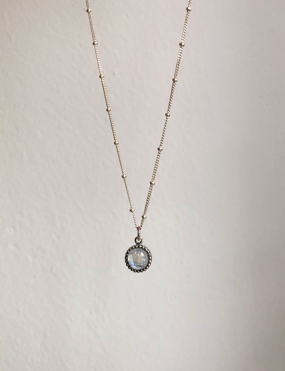 Moonstone Mini Necklace