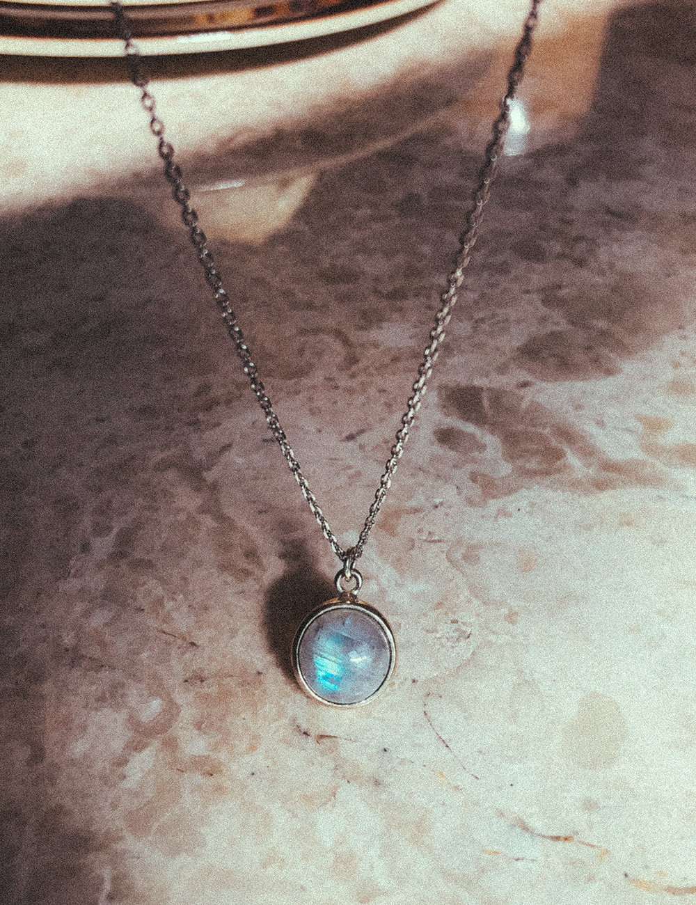 Neat Moonstone Necklace