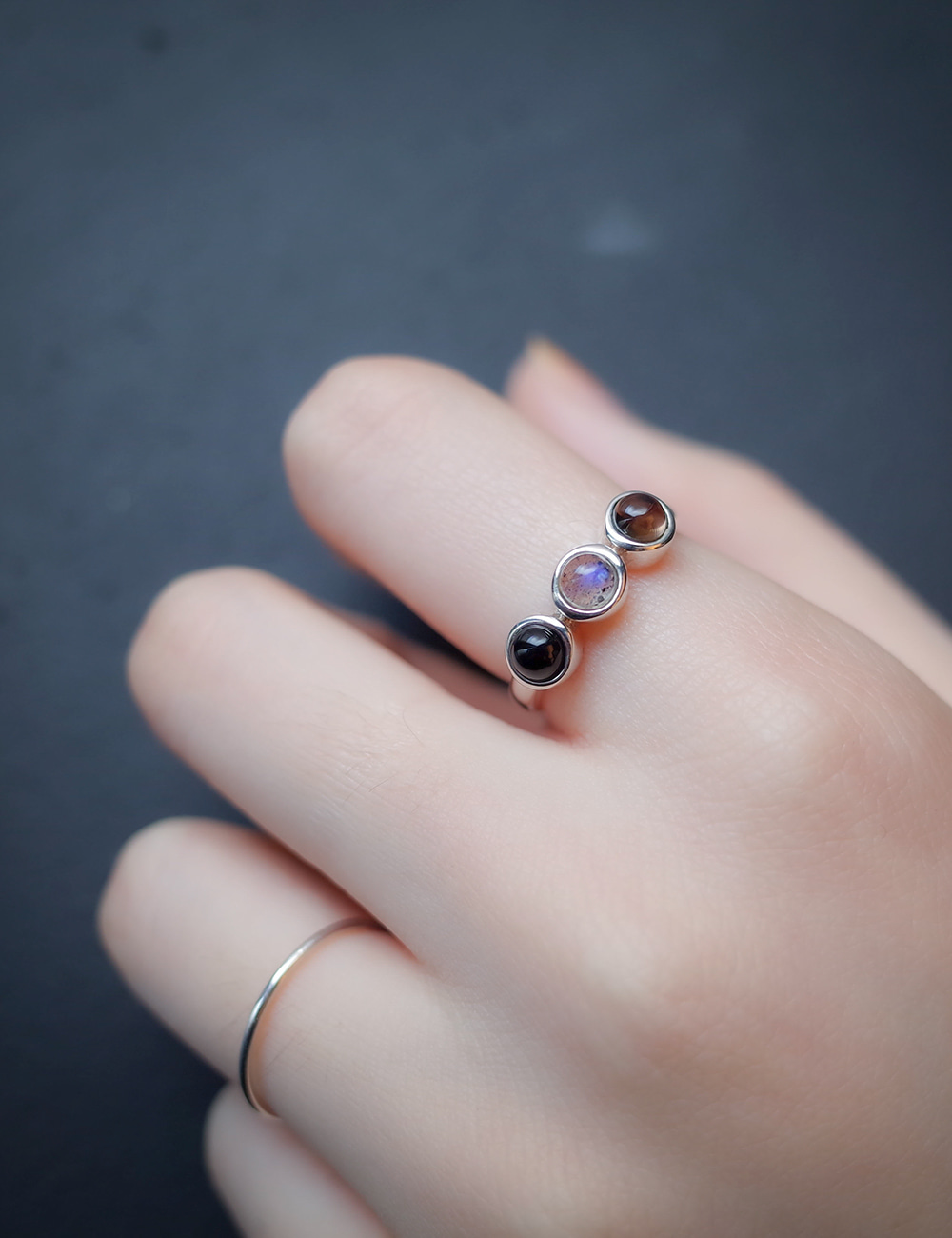 Smoky Color Ring